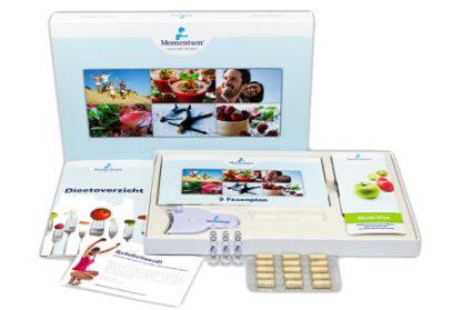 Momentum Lifestyle Program European Packaging